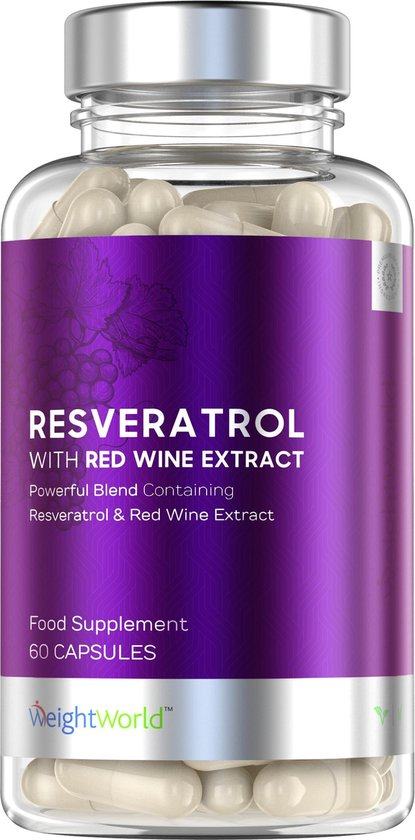 WeightWorld Resveratrol 250 mg - 60 Capsules